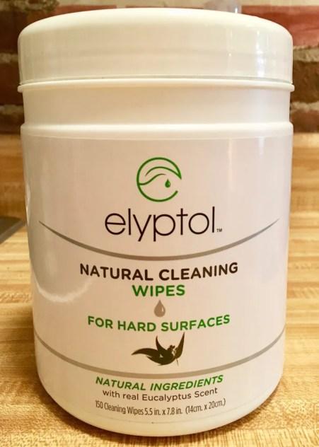 elyptol wipes package photo by gail worley