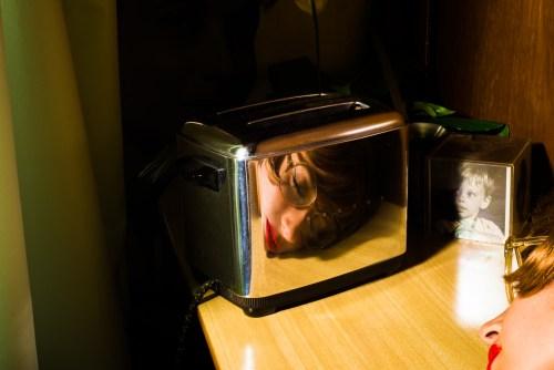 toaster self portrait by franco klein