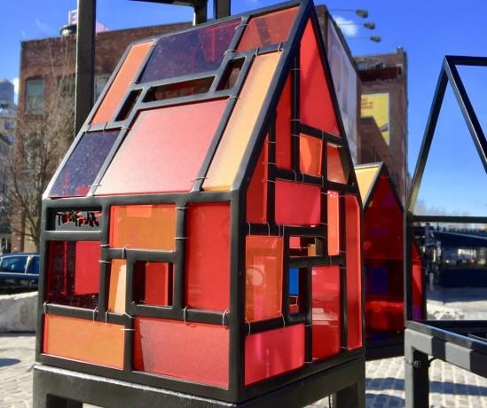 tiny orange fruin house photo by gail