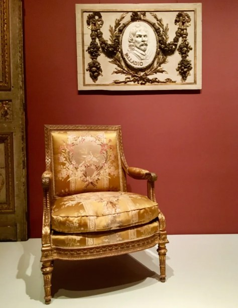 neoclassical armchair by georges jacob photo by gail worley