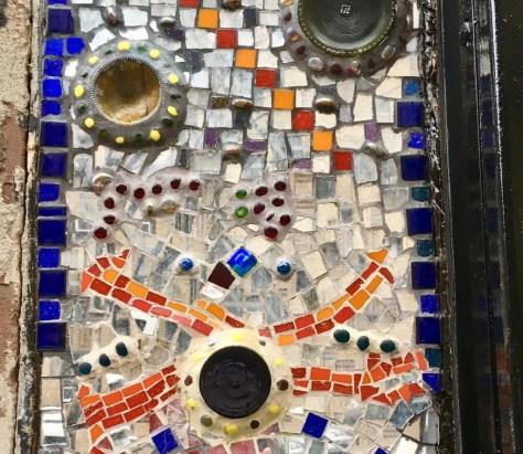 mosaic detail photo by gail worley
