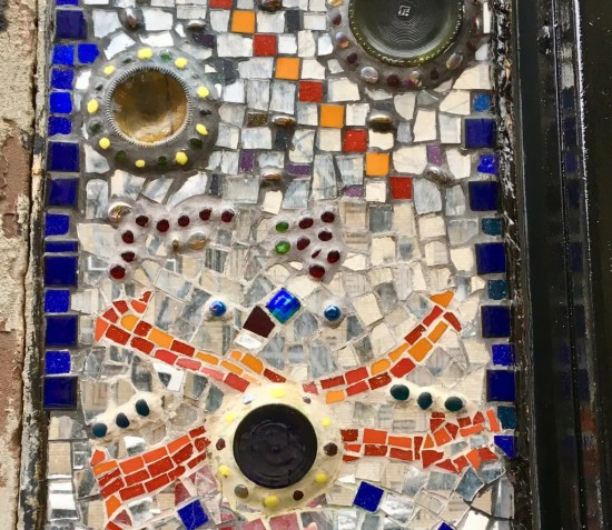mosaic detail photo by gail worley