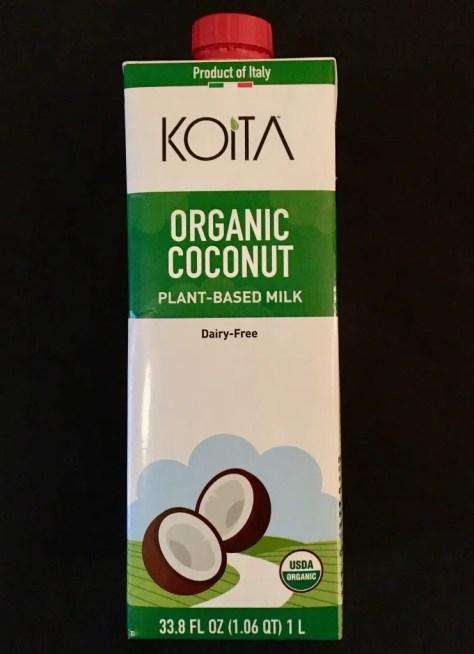 koita organic coconut milk photo by gail worley