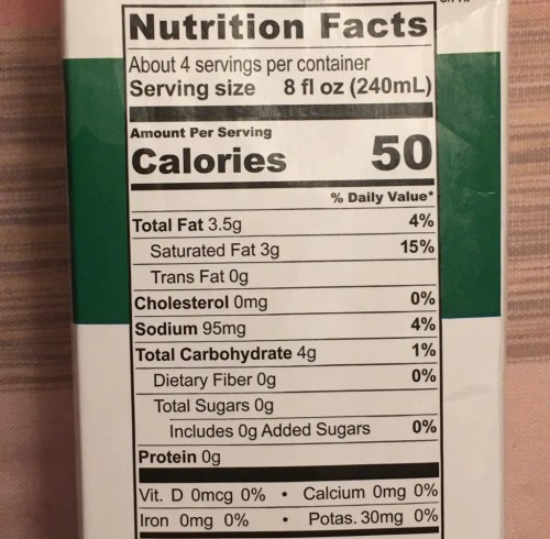 coconut milk nutritional content photo by gail worley