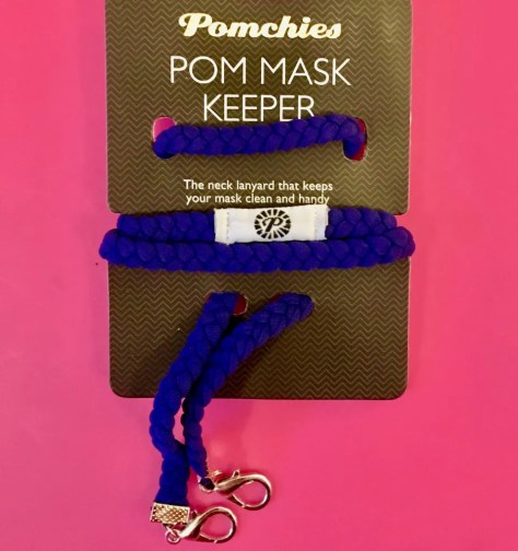 pom mask mask keeper photo by gail worley
