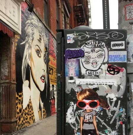 blondie street art photo by gail worley