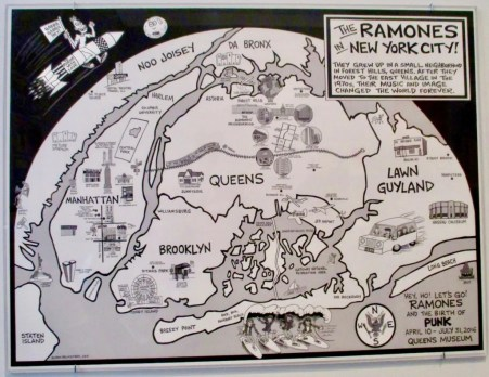 ramones poster photo by gail worley