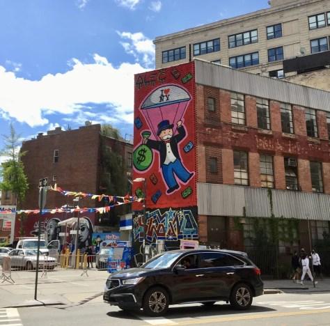 alec monopoly mural chelsea 2021 photo by gail worley