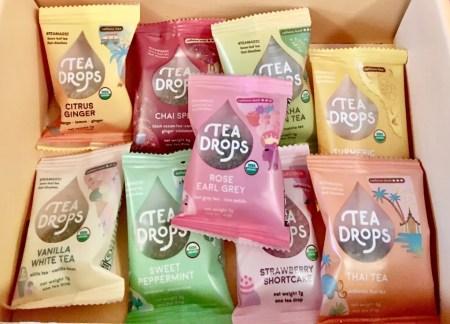 tea drops assortment photo by gail worley