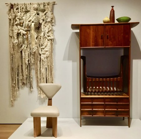 sam maloof cradle cabinet photo by gail worley