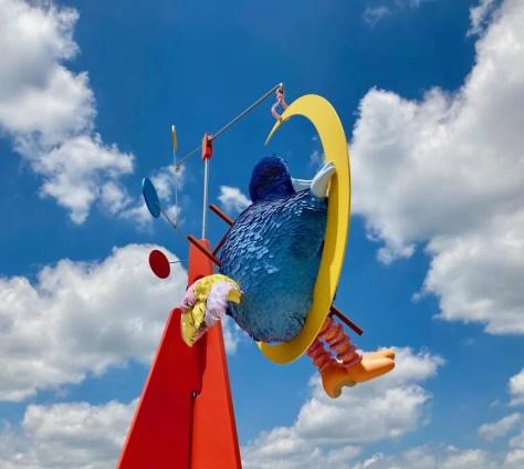 alex da corte sculpture photo by gail worley