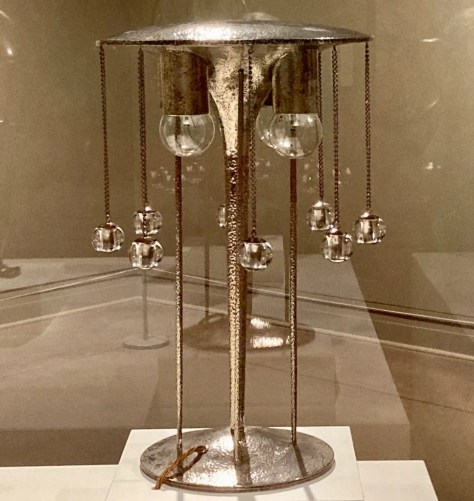table lamp by josef hoffmann photo by gail worley