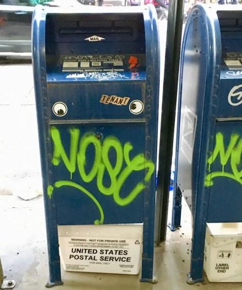 googly eye mail box photo by gail worley