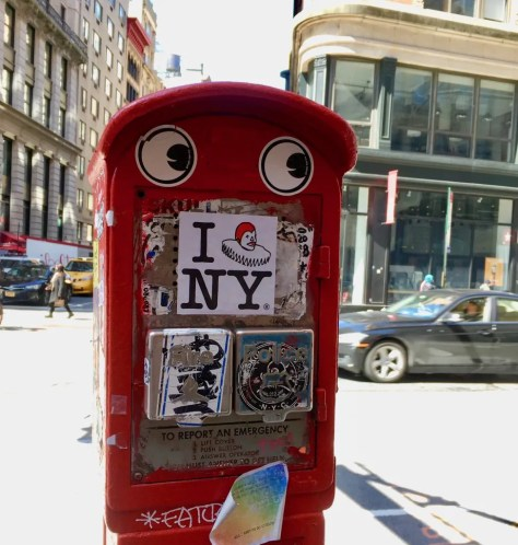 googly eye fire box 2 photo by gail worley