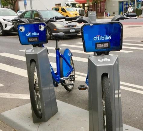 googly eye city bike photo by gail worley