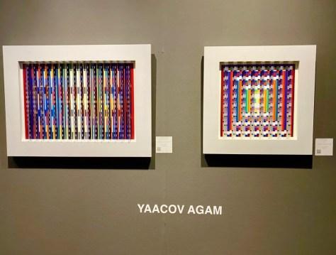 2 pieces by yaacov agam photo by geoffrey dicker