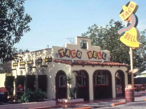 taco bell original stand
