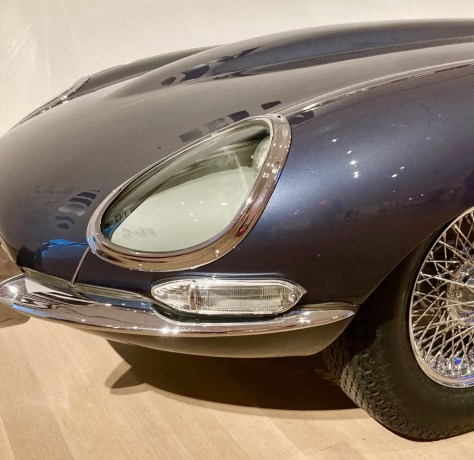 jaguar e type roadster detail photo by gail worley