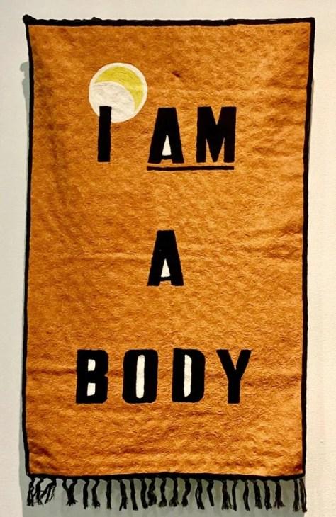 i am a body rug photo by gail worley