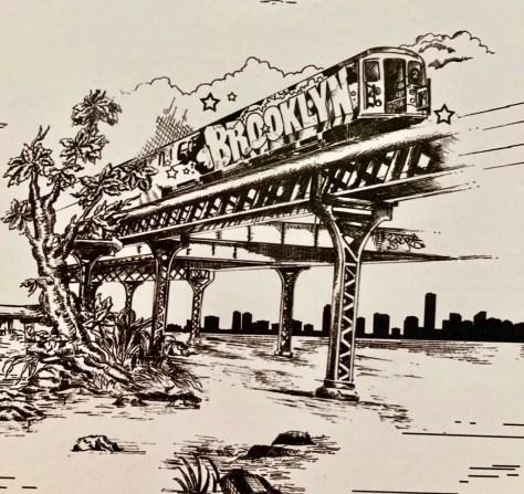 brooklyn subway car photo by gail worley