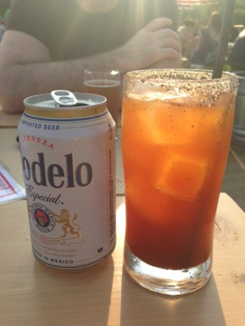 Michelada at Parson's Chicken & Fish
