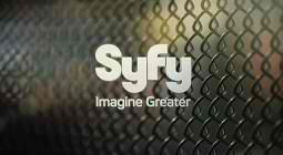SyFy Logo - Chain Link Fence