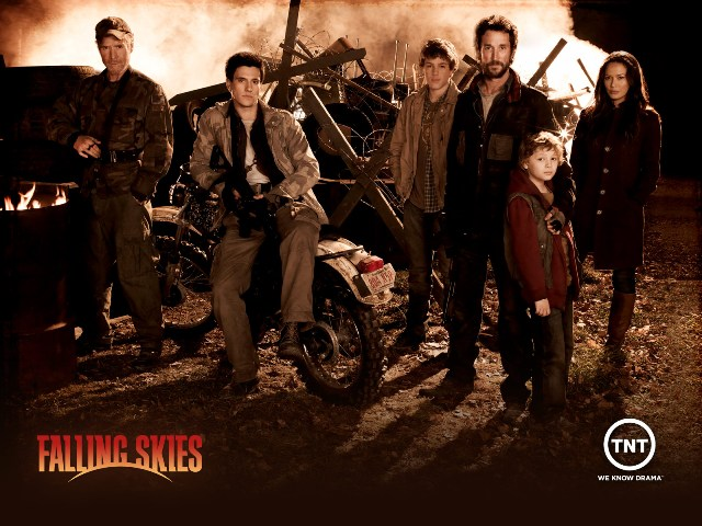 Falling Skies Cast Banner - Click to learn more at TNT!