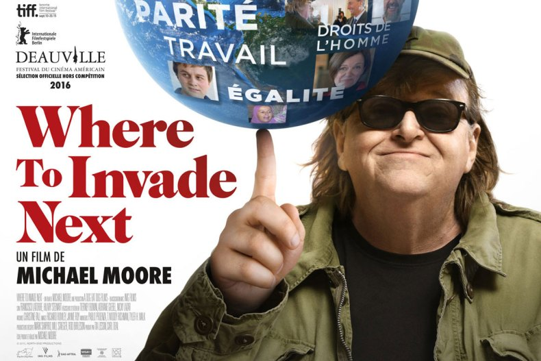 Affiche du film Where To Invade Next ?