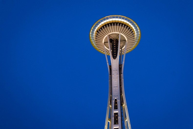 Le Space Needle, le seul, l'unique