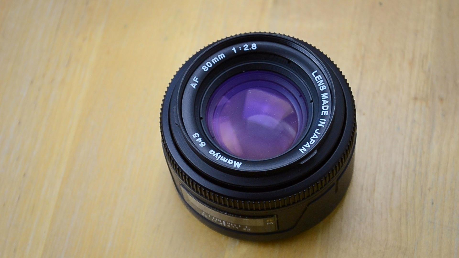 L'objectif 80mm f/2.8 AF