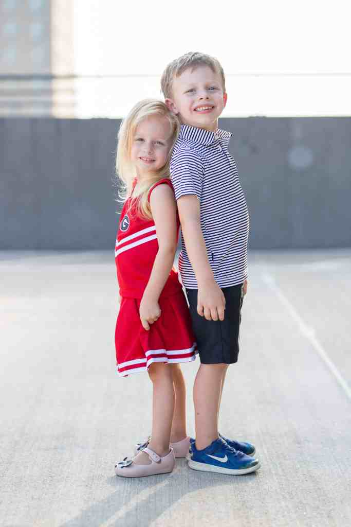 two little future georgia bulldogs