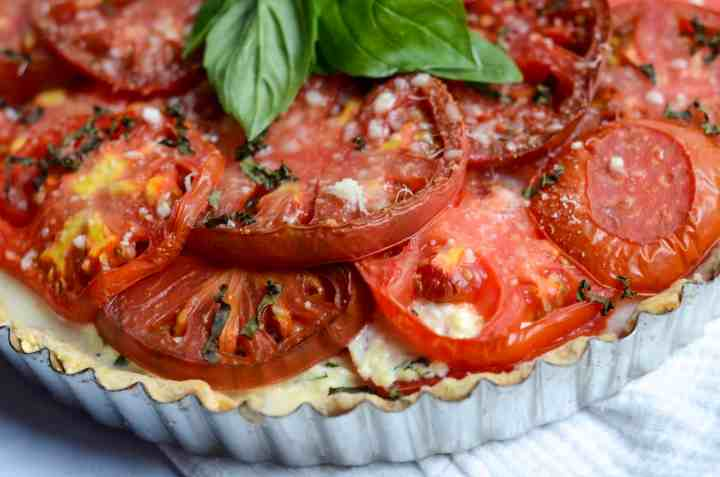 baked tomato pie