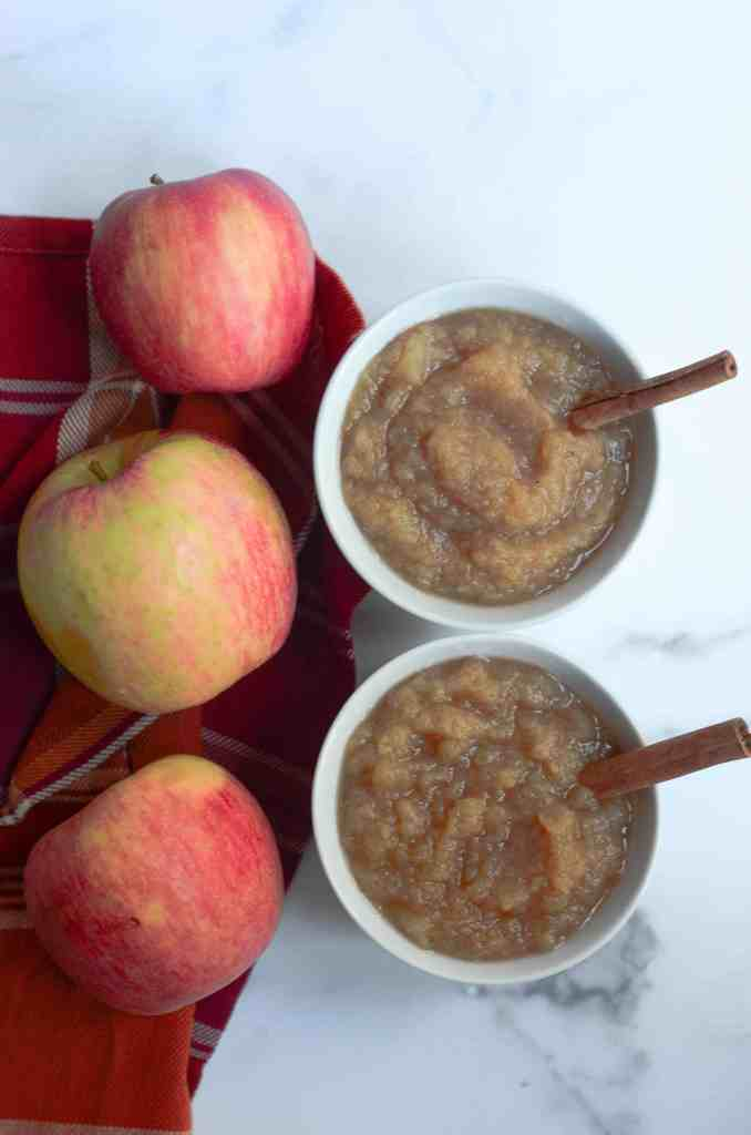 make your applesauce creamy or chunky
