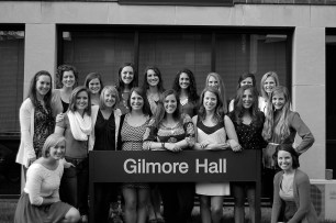 Just a handful of the women that impacted my time at Hope College.