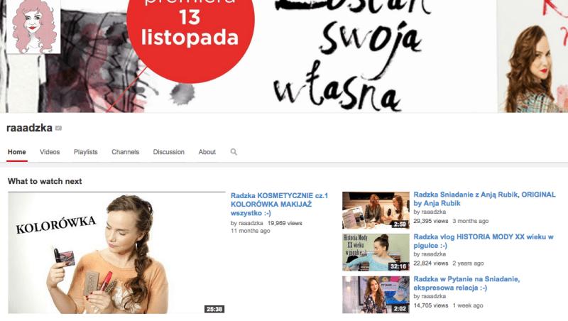 radzka youtube moda styl sylwetki