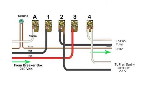 Pool Timer Wiring Diagram : E pool timer wiring diagram circuit maker