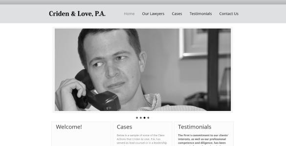 CridenLove.com | Michael Criden - Law Firm