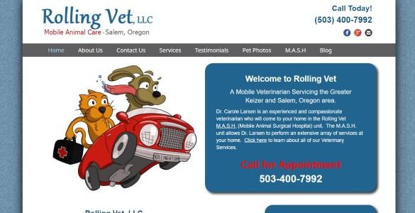 Rolling Vet, LLC, Mobile Animal Care in Salem, Oregon | (503) 400-7992