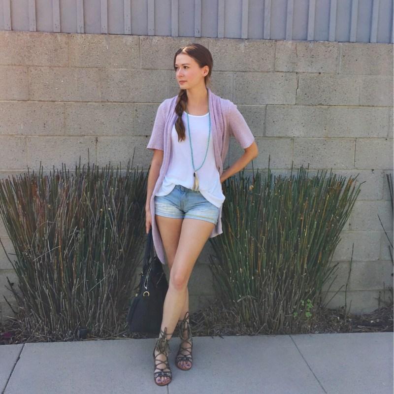 Wardrobe Staple: Denim Shorts
