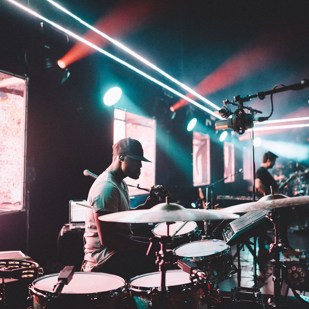 Drum Setup from There is A Cloud (Elevation Worship