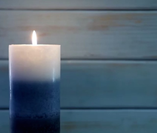 One Blue Candle Thanksgiving