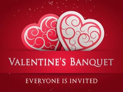 Valentines Day Banquet Loop Hyper Pixels Media