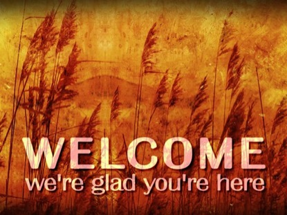Autumn Welcome Background Vertical Hold Media