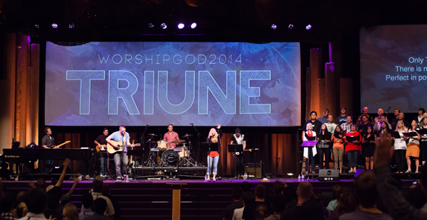 Songs from WorshipGod14: TRIUNE - Worship Matters