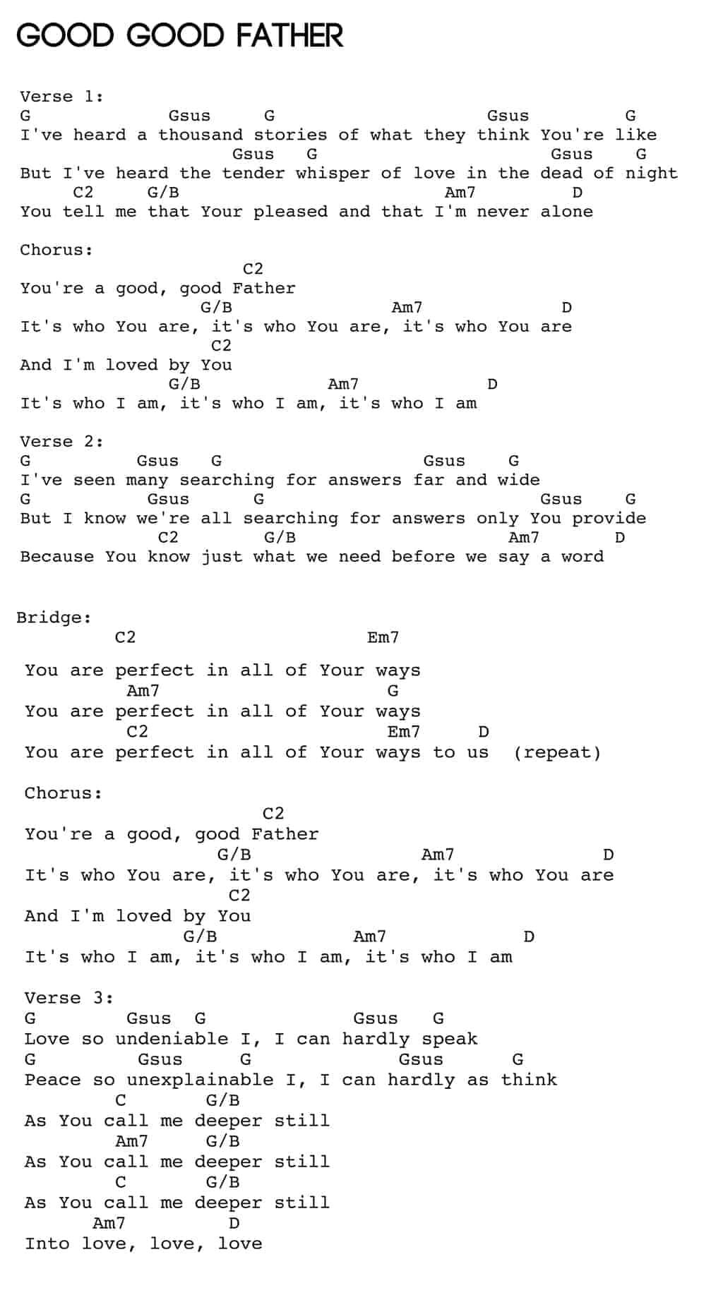 goodgoodfather-chords