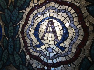 Alpha Omega mosaic, Standford University, California USA - by Ana