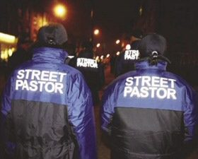 Street pastors in Basingstoke, UK