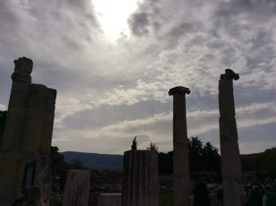Ephesus, Turkey by Ana Gobledale