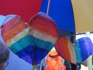 Salisbury UK Pride Parade -- Ana Gobledale