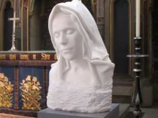 Mary, Richard Mossman, Bristol Cathedral UK